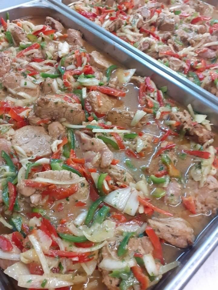 Filet mignon de porc au muscadet et curry